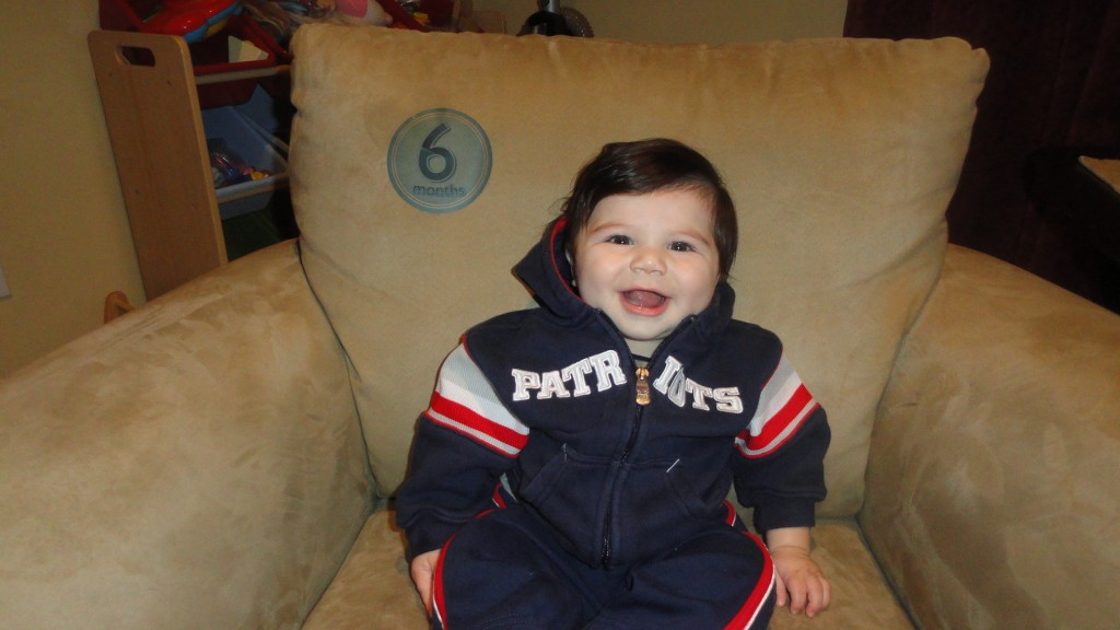 6 months 1024x576 Wordless Wednesday: Zane throughout his first year!