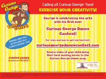 Curious George  The Ultimate Dance Contest