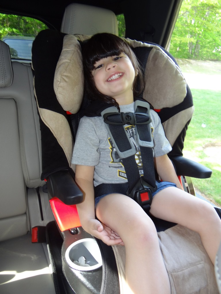 DSC03907 768x1024 Britax Frontier 85 Car Seat Review Giveaway!