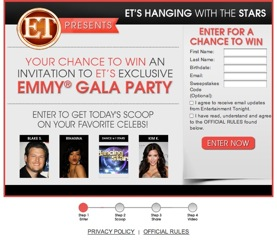 winwithet 1 Who loves Entertainment Tonight? Interested in Hanging out with the Stars??