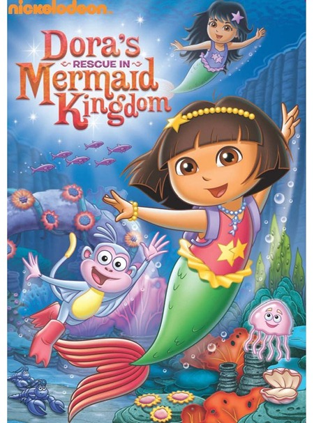 711M8rnIu4L. AA1061  Dora the Explorer: Dora's Rescue in Mermaid Kingdom/Team Umizoomi: Umigames Review!