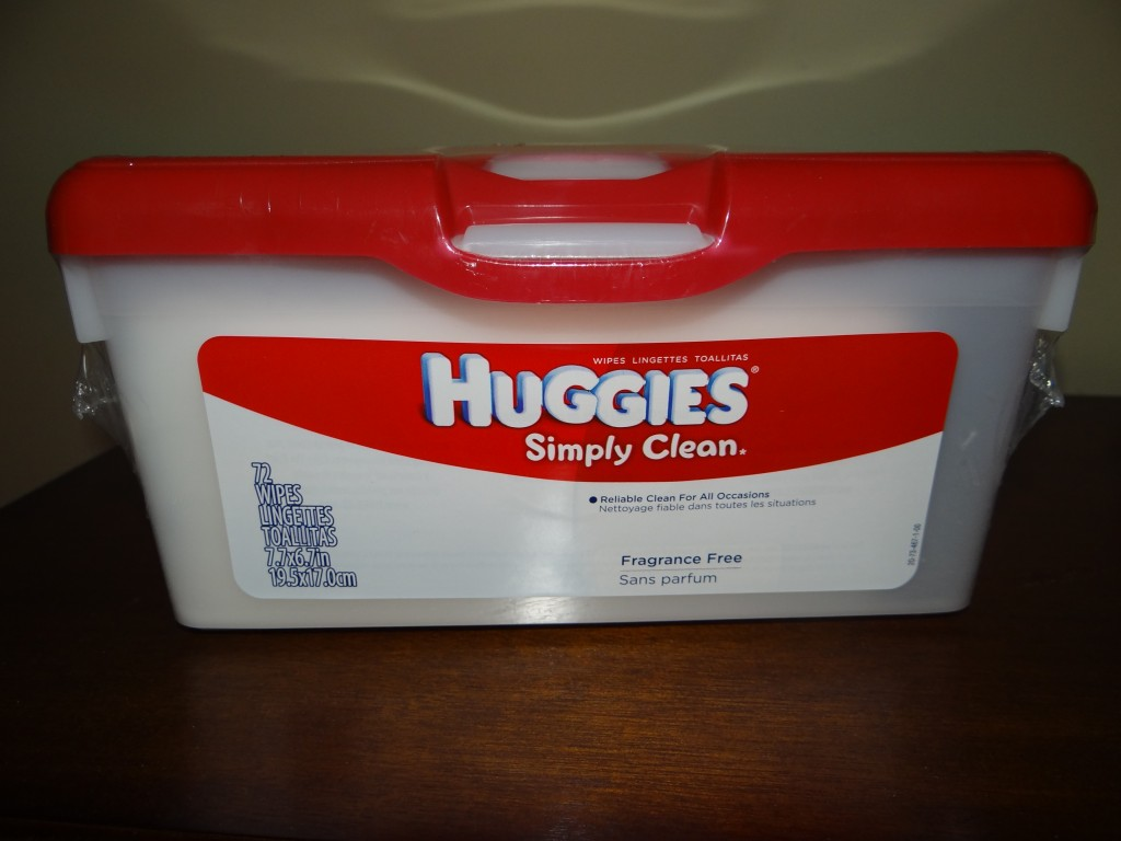 DSC04121 1024x768 Huggies Wipes to the Rescue!
