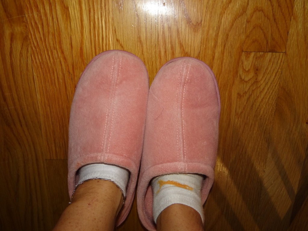 DSC04441 1024x768 Nature's Sleep Slipper Review Giveaway