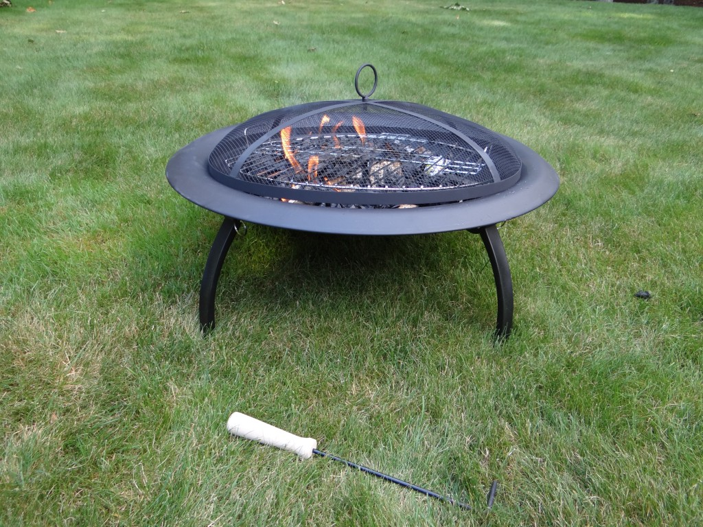 DSC04543 1024x768 Soothing Company Fire Pit Review!