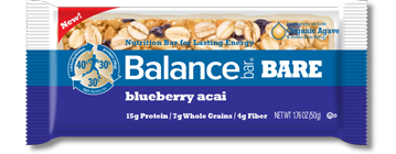 bar bare blueberry acai large Fathers Day Giveaway: Balance Bars and Oxywater Review Giveaway!