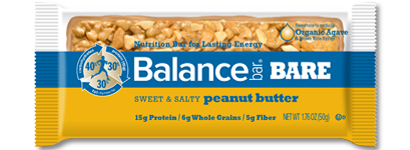 bar bare sweet and salty peanut butter large Fathers Day Giveaway: Balance Bars and Oxywater Review Giveaway!