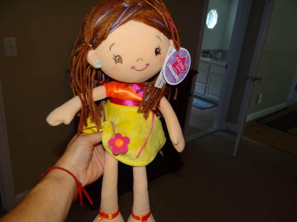 DSC05564 1024x768 Gund Girl Doll Review Giveaway!
