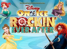 Disney on Ice Rockin Ever After  Providence, RI 4 pack GIVEAWAY  2 winners