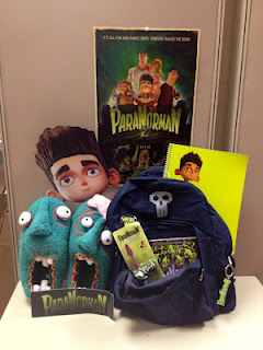 paranorman 1st prize ParaNorman Swag Gift Set plus Screening Tickets to Providence, RI movie on 8/16  2 winners!
