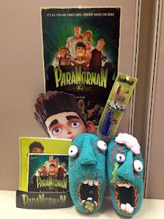 paranorman 2nd prize ParaNorman Swag Gift Set plus Screening Tickets to Providence, RI movie on 8/16  2 winners!
