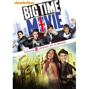 51zI+Akrb1L. SL500 AA300  Nickelodeons Big Time Movie and Rags: Double Movie!