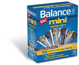 Balance Bar Mini Energy Bars Box 2 Balance Bar mini energy bars Complete Prize Pack Review Giveaway!