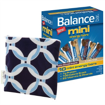 Balance Bars Mini Energy Kit Balance Bar mini energy bars Complete Prize Pack Review Giveaway!