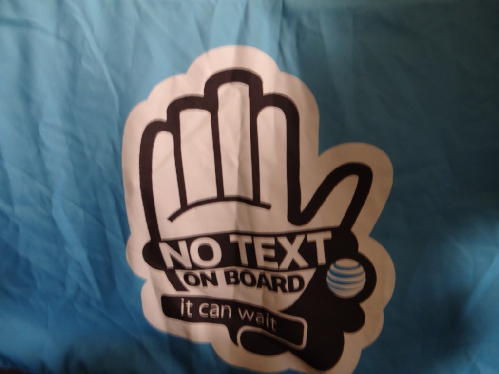 DSC05783 1024x768 Did you join the pledge to not text and drive? #Itcanwait