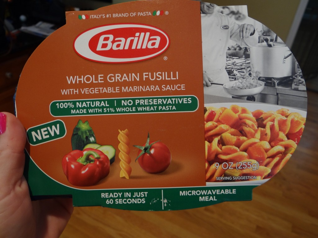 DSC05981 1024x768 Barilla Microwaveable Meals Review Giveaway!