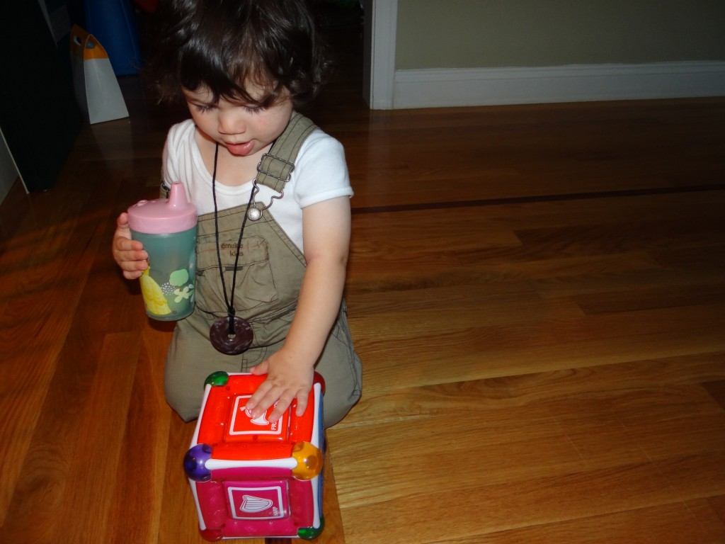 DSC06348 1024x768 Munchkin Mozart Magic Cube Toy Review Giveaway