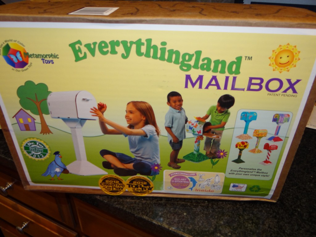 DSC06372 1024x768 Metamorphic Toys Kids Mailbox Review Giveaway!