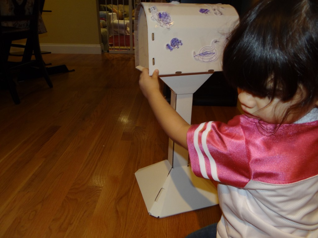 DSC06383 1024x768 Metamorphic Toys Kids Mailbox Review Giveaway!