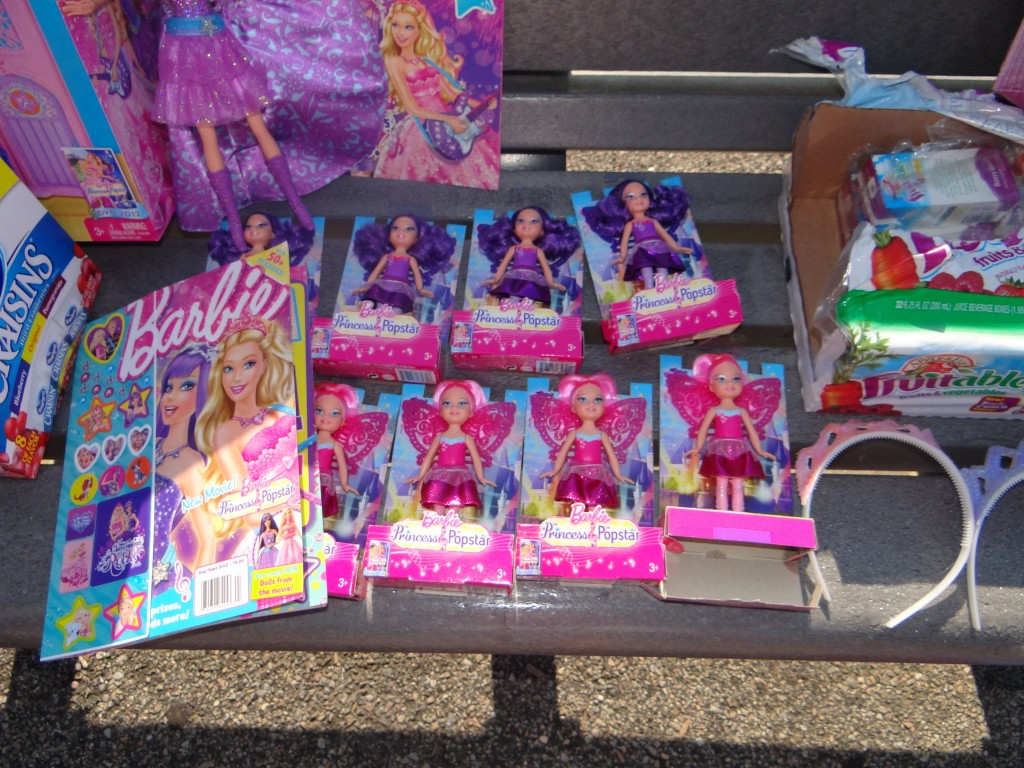 DSC06432 1024x768 We had a Barbie Princess Popstar Party (Review) and Barbie #PopStarPrincess Giveaway!