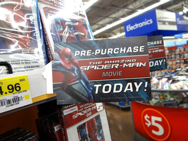 DSC06789 Who wants to see The Amazing Spider Man even before it is released on DVD? #SpiderManWMT #Cbias