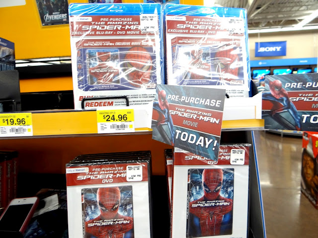 DSC06802 Who wants to see The Amazing Spider Man even before it is released on DVD? #SpiderManWMT #Cbias