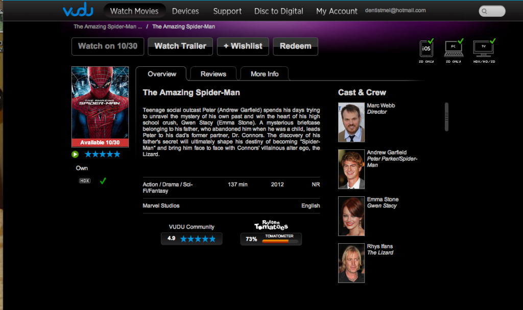 Screen Shot 2012 09 30 at 9.27.44 AM 1024x608 Who wants to see The Amazing Spider Man even before it is released on DVD? #SpiderManWMT #Cbias