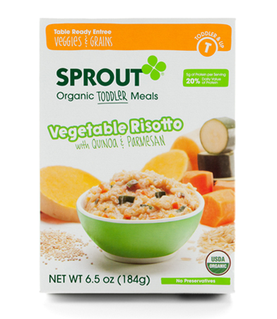 VRQP feature Sprout Toddler Meals!