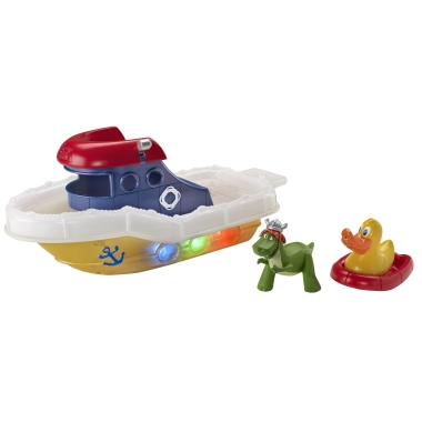 pMAT1 13182554v380 Disney Pixar Toy Story Partysaurus Boat and Color Change Splash Buddies Tub Toys!