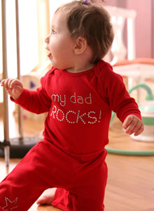 tshirt girls my dad rocks Just Jen Personalized Rhinestone Back to School Shirt!