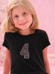 tshirt girls number polka dot Just Jen Personalized Rhinestone Back to School Shirt!