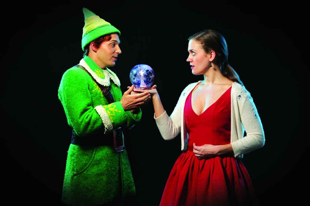 Buddy and Jovie 1 1024x682 ELF, The Musical Broadway Tour at the PPAC, RI  4 pack ticket giveaway!