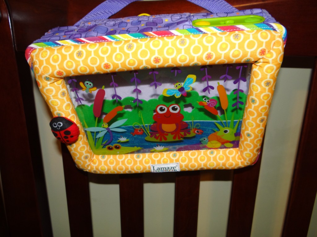DSC06834 1024x768 Lamaze Pond Symphony Crib Soother Review Giveaway