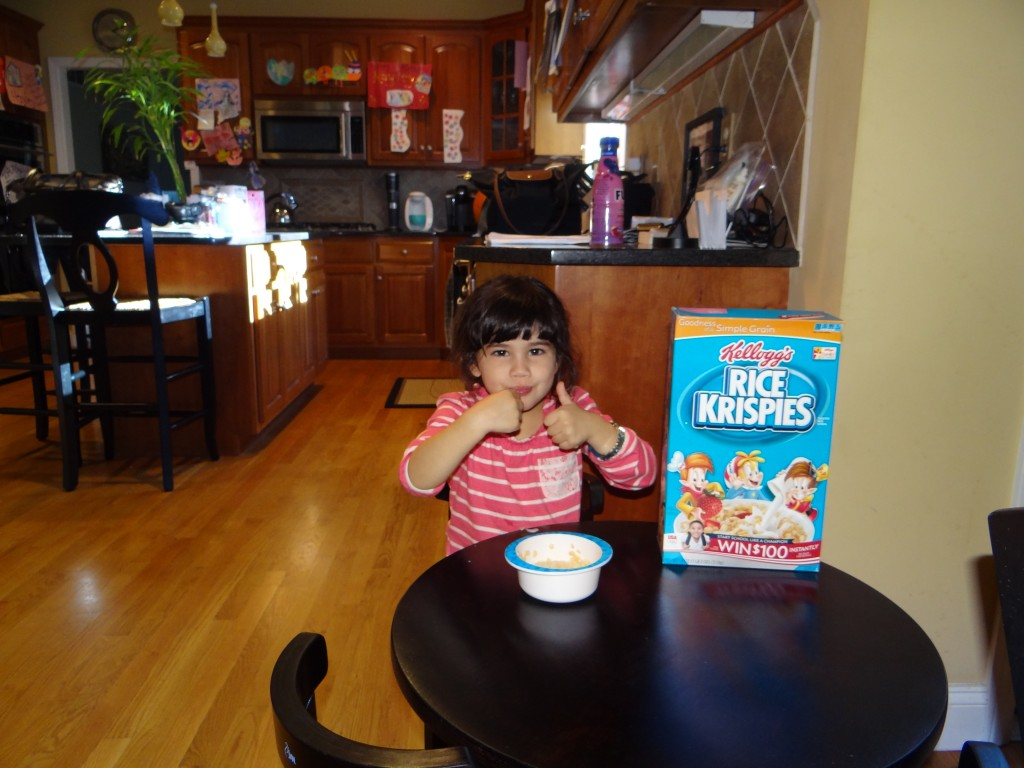 DSC06979 1024x768 Kelloggs Start Simple, Start Right  I love Kelloggs cereal!