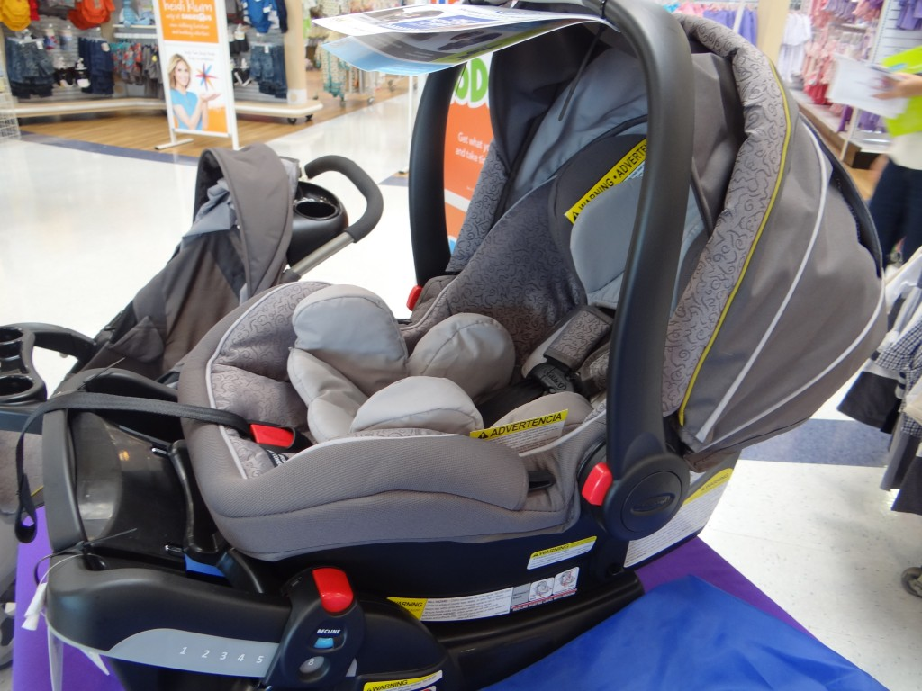 DSC07276 1024x768 Graco SnugRide Click Connect 40 Event/Review and a $25 Babies R Us GC Giveaway! #GracoSafety