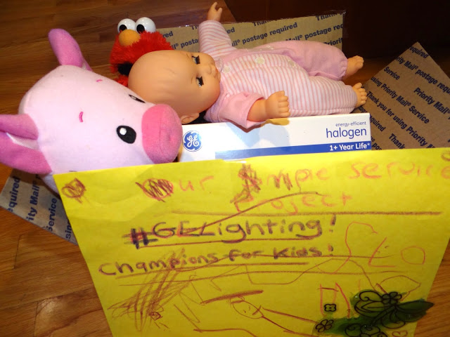 DSC07332 My donation to the GE Champions for Kids Simple Project #GELighting #Cbias