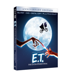 ET Anniversary Edition E.T. The Extra Terrestrial 30th Anniversary DVD!