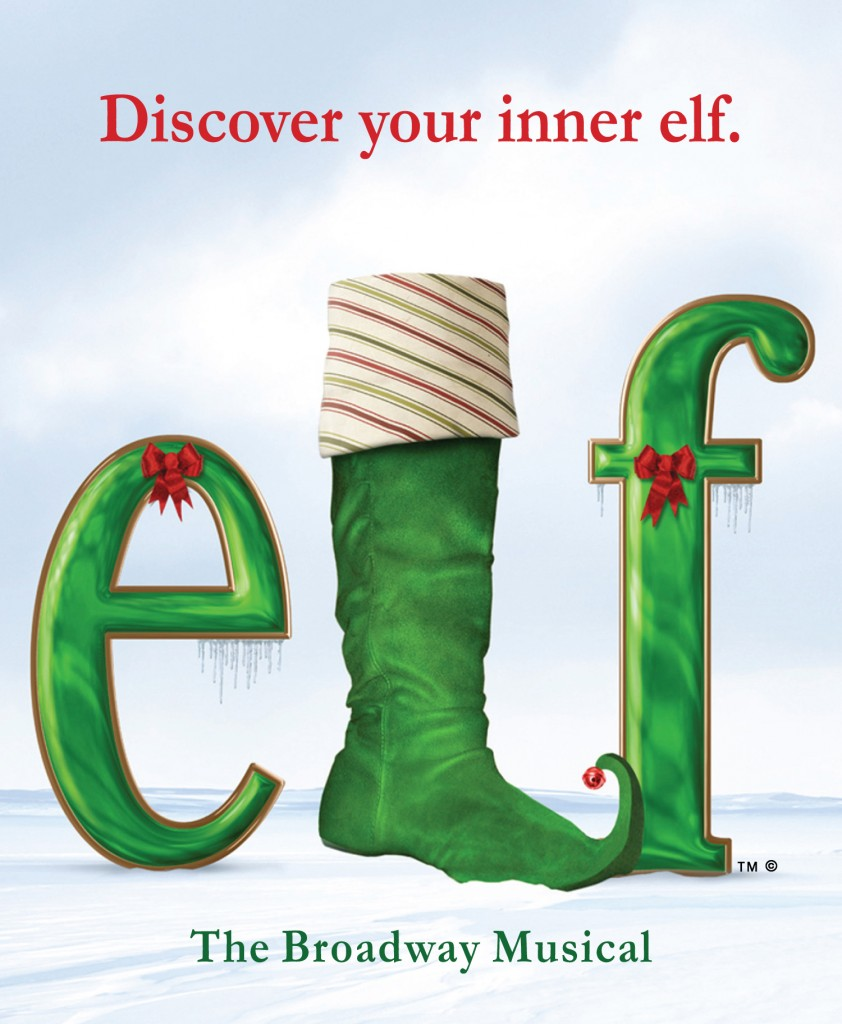 Elf Logo TM and C 842x1024 ELF, The Musical Broadway Tour at the PPAC, RI  4 pack ticket giveaway!