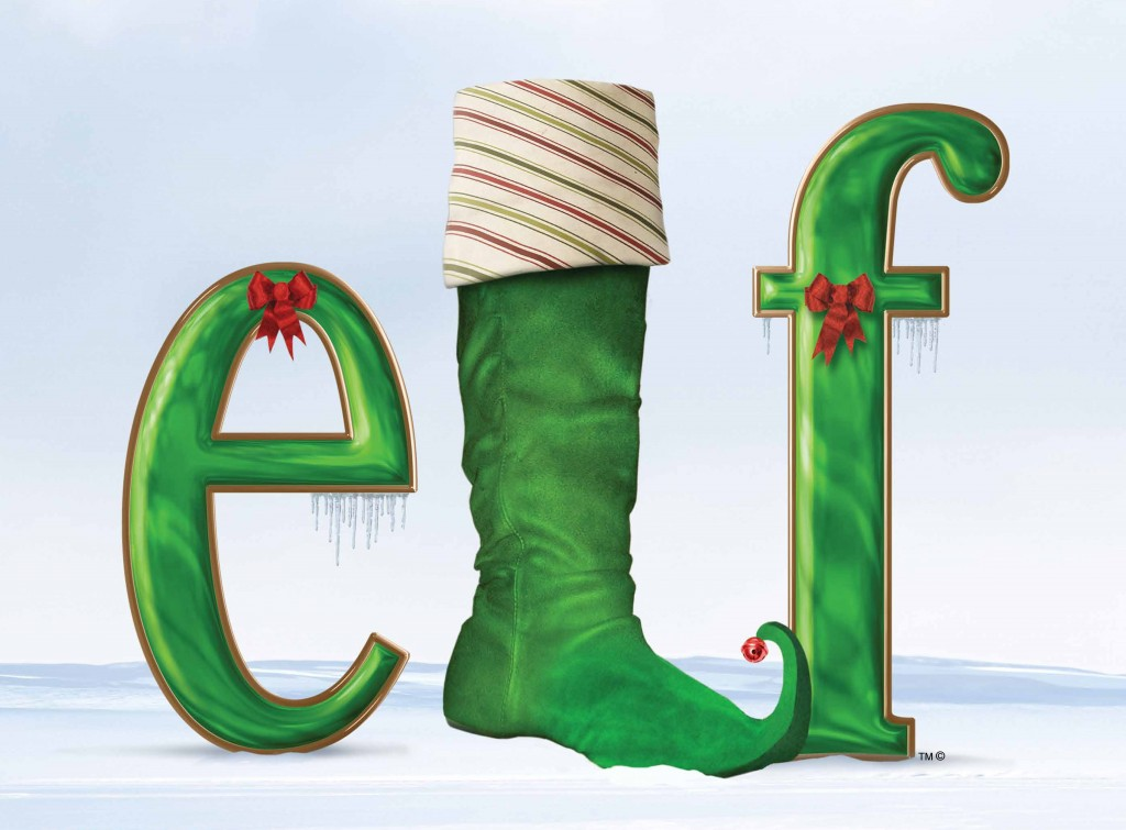 Elf Logo with TM and Copyright 2 1024x755 ELF, The Musical Broadway Tour at the PPAC, RI  4 pack ticket giveaway!