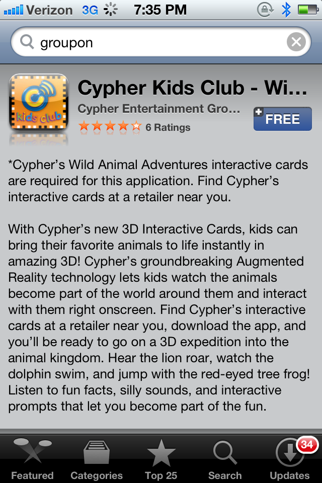 IMG 1063 Cypher Entertainment Augmented Learning Cards  Make Learning Fun For Your Kids On The iPhone, iPad! #CypherKidsClub #Cbias