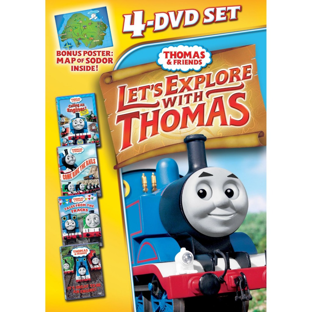 91APzr+cN7L. AA1500  1024x1024 Thomas and Friends 4 DVDs, Angelina Ballerina, and Barney DVDs Review Giveaway!