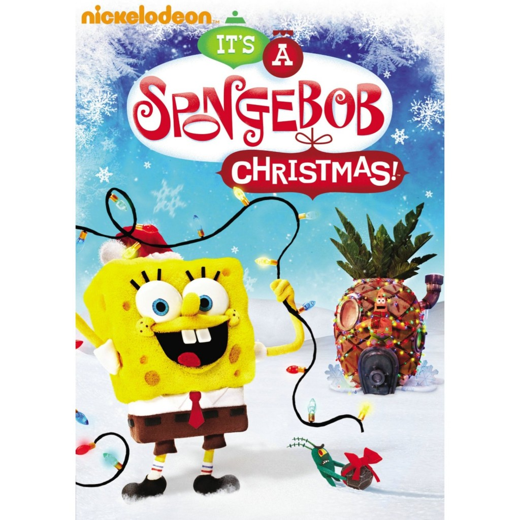 91KfG1s niL. AA1500  1024x1024 It is a SpongeBob Christmas DVD review!