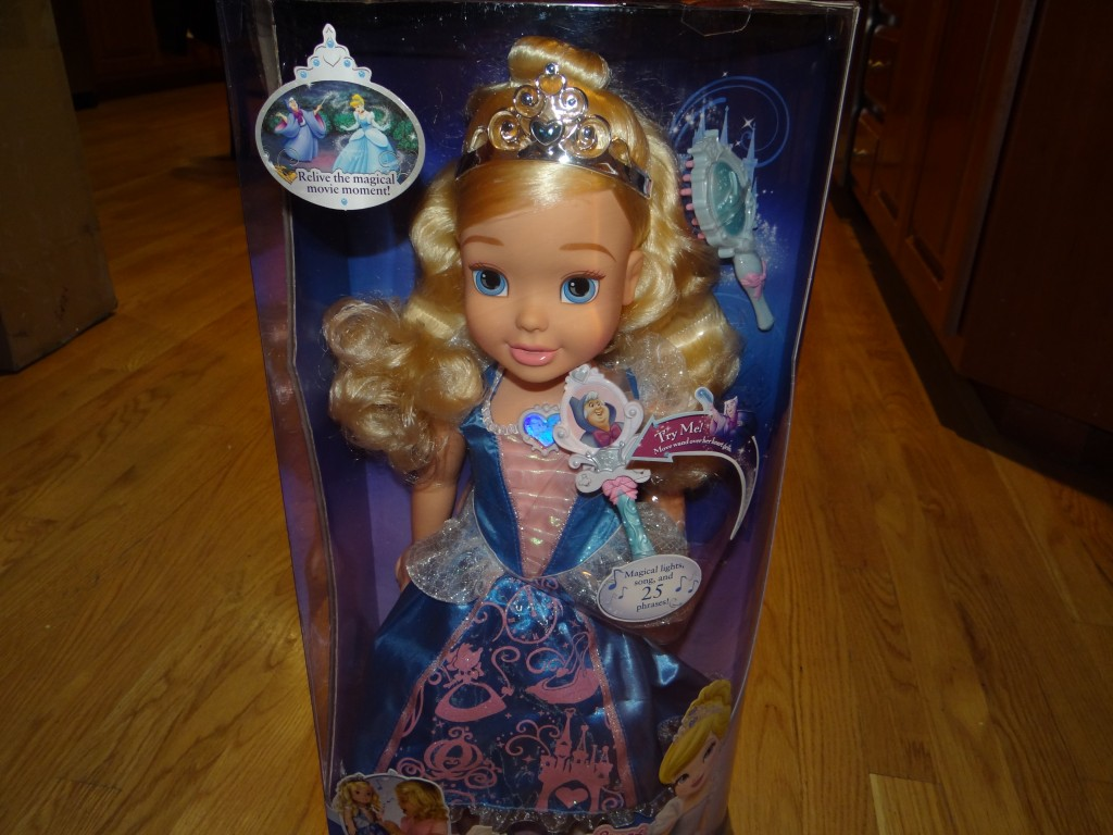 DSC07980 1024x768 Tollytots My Magical Wand Cinderella (Huge Princess Doll) Review Giveaway!