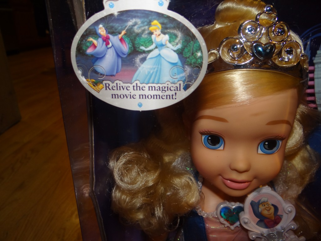 DSC07981 1024x768 Tollytots My Magical Wand Cinderella (Huge Princess Doll) Review Giveaway!