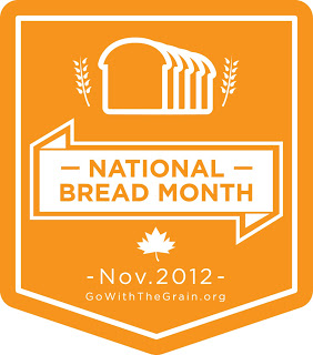 National Bread Month Badge November is National Bread Month!