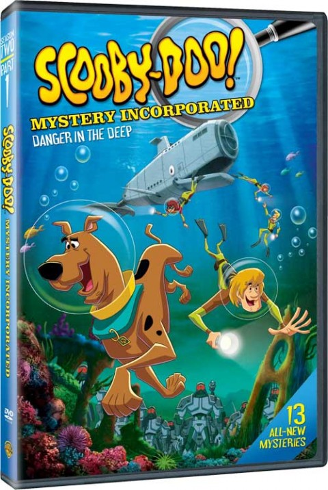 ScoobyDoo Mystery Inc Danger In Deep DVD Scooby Doo! Mystery Incorporated Season 2: Part 1: Danger in the Deep!