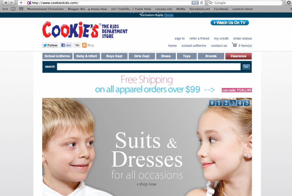 Screen Shot 2012 11 11 at 10.27.31 AM 1024x686 Updating My Childrens Wardrobe with Cookies Kids Clothes #CookiesKids #Cbias
