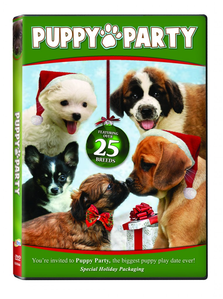 100566 Puppy Party holiday 765x1024 Tons of fun holiday movies for your enjoyment!
