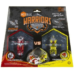 61GyXs9rudL. SL500 AA300  HEXBUG Warriors Battling Robots!