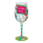 BirthdayGirlTooWineGlass Designs by Lolita Review