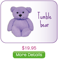 Heating Pack Bear Purple Thermal Aid Thumbnail Thermal Aid Zoo Heating/Cooling Packs for Kids!